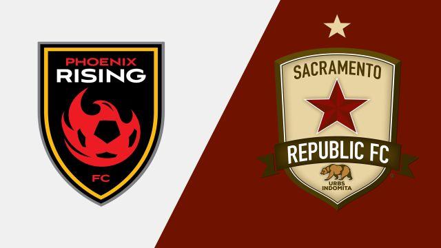 Phoenix Rising FC vs. Sacramento Republic FC