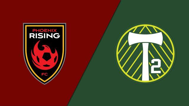 Phoenix Rising FC vs. Portland Timbers 2 (USL Cup Playoffs)