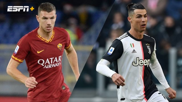 In Spanish-AS Roma vs. Juventus (Serie A)