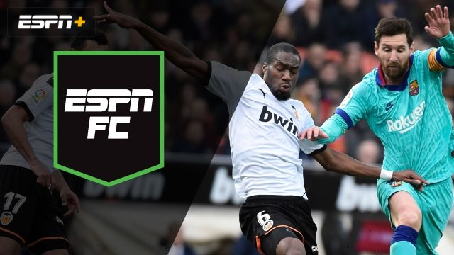 Sat, 1/25 – ESPN FC: Showdown at Mestalla
