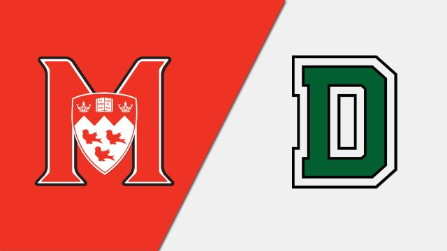 McGill vs. Dartmouth (W Hockey)