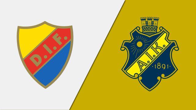 Djurgardens IF vs. AIK Fotboll (Allsvenskan)
