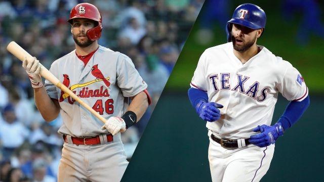 St. Louis Cardinals vs. Texas Rangers