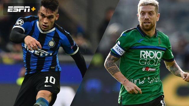 In Spanish-Inter Milan vs. Atalanta (Serie A)