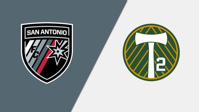 San Antonio FC vs. Portland Timbers 2 (United Soccer League)