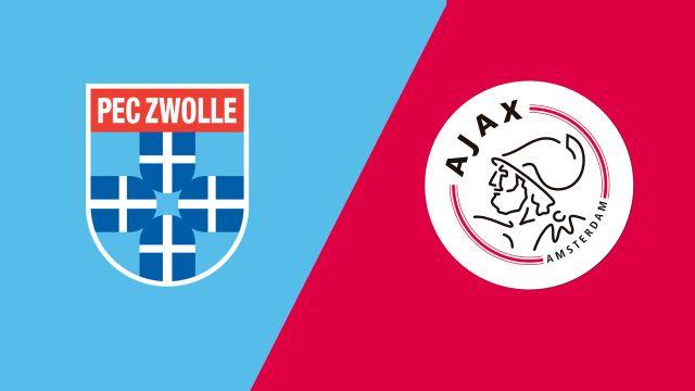 PEC Zwolle vs. Ajax (Eredivisie)