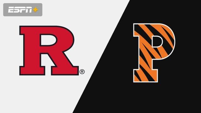 Rutgers vs. Princeton