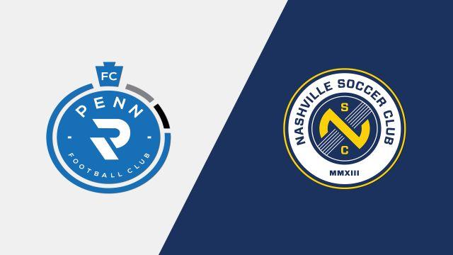 Penn FC vs Nashville SC
