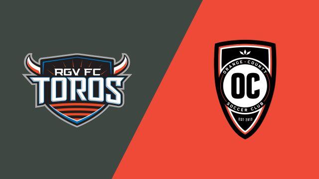 Rio Grande Valley FC vs. Orange County SC