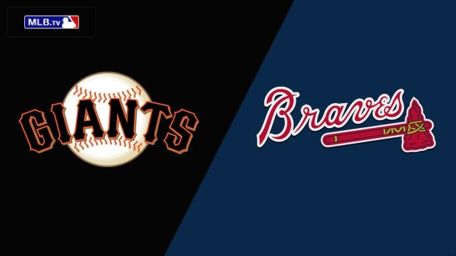 San Francisco Giants vs. Atlanta Braves