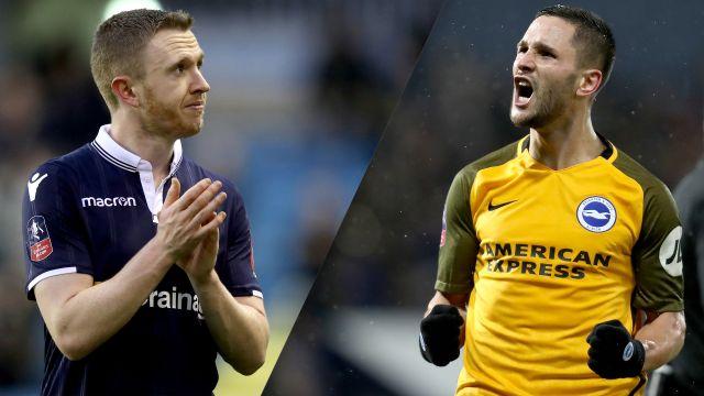 Millwall vs. Brighton & Hove Albion (Quarterfinal) (FA Cup)