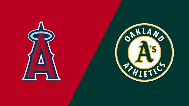 Los Angeles Angels of Anaheim vs. Oakland Athletics