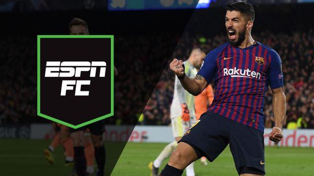 Fri, 3/15 - ESPN FC: UEFA Champions League Quarters
