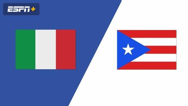 Italy vs. Puerto Rico (Group Phase)