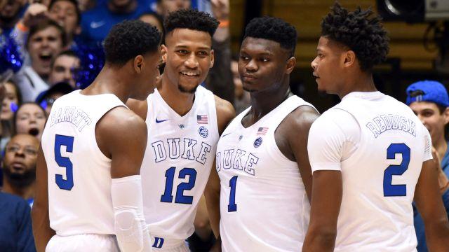 Iso Camera: #8 North Carolina vs. #1 Duke (M Basketball)