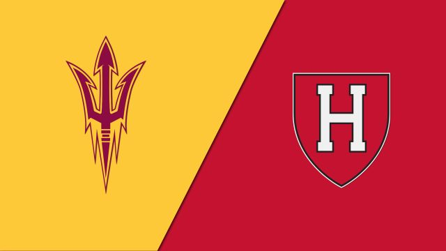 Arizona State vs. Harvard (M Hockey)