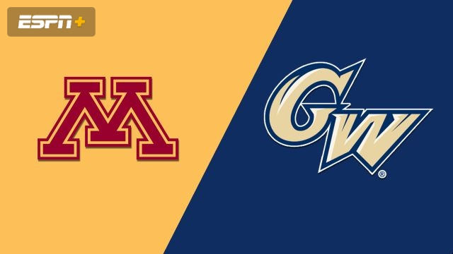 Minnesota vs. George Washington (W Basketball)