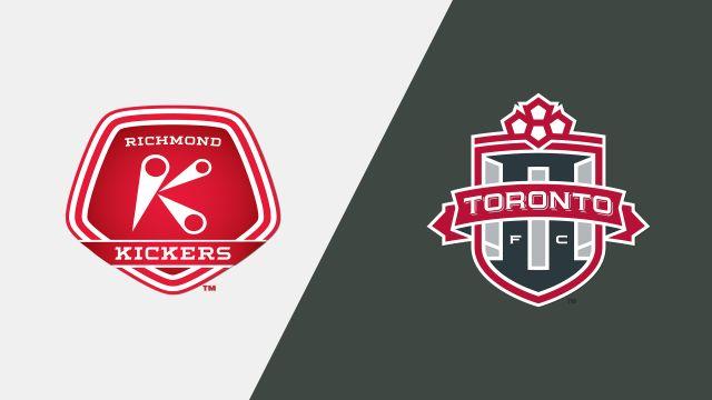 Richmond Kickers vs Toronto FC II