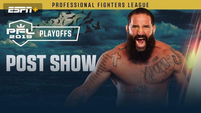 PFL Playoffs Post Show: Heavyweight and Light Heavyweight