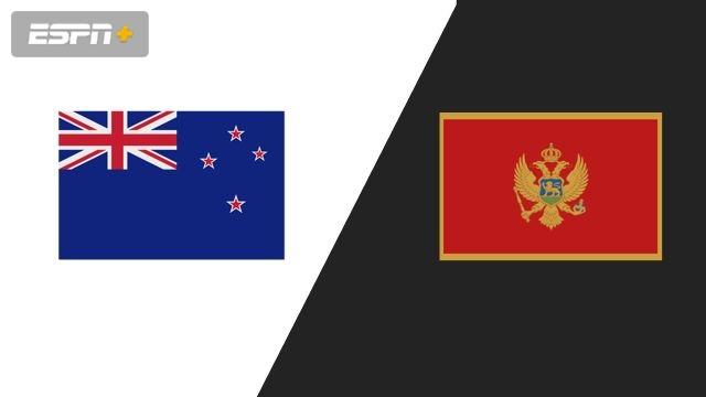 New Zealand vs. Montenegro (Group Phase)