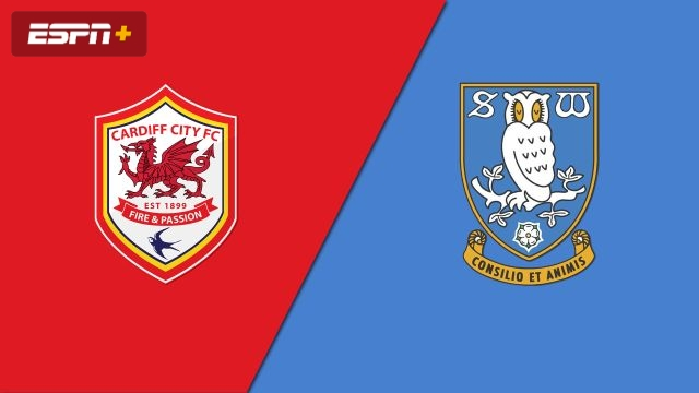 Cardiff City vs. Sheffield Wednesday (English League Championship)