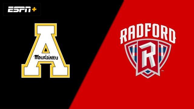 Appalachian State vs. Radford (W Soccer)