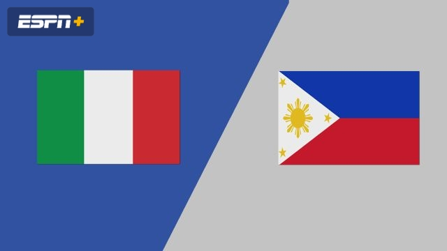 Italy vs. Philippines (Group Phase)
