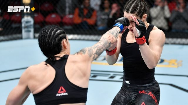 Sara McMann vs. Lina Lansberg (UFC Fight Night: Blaydes vs. Dos Santos)