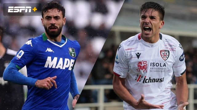 Sassuolo vs. Cagliari (Serie A)