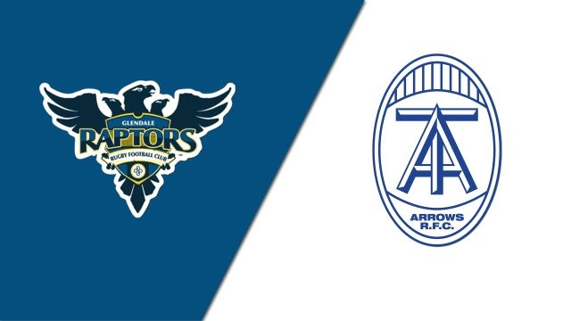 Glendale Raptors vs. Toronto Arrows (Major League Rugby)