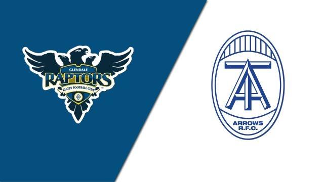 Glendale Raptors vs. Toronto Arrows (Major League Rugby)