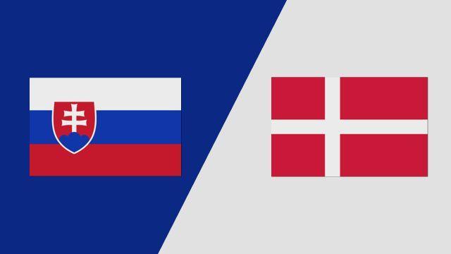 Slovakia vs. Denmark (2018 FIL World Lacrosse Championships)