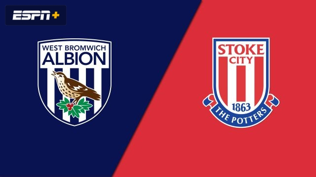 West Bromwich Albion vs. Stoke City (English League Championship)