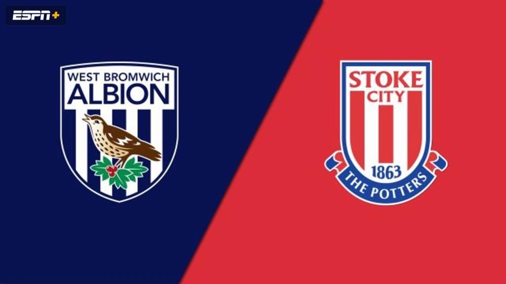 West Bromwich Albion vs. Stoke City (English League Championship)