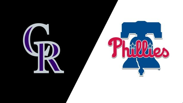 Colorado Rockies vs. Philadelphia Phillies