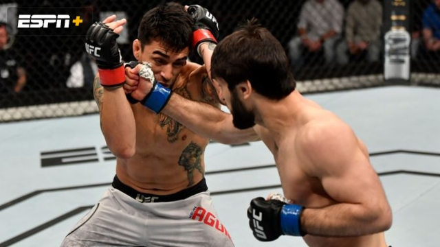 Kevin Aguilar vs. Zubaira Tukhugov (UFC Fight Night: Felder vs. Hooker)
