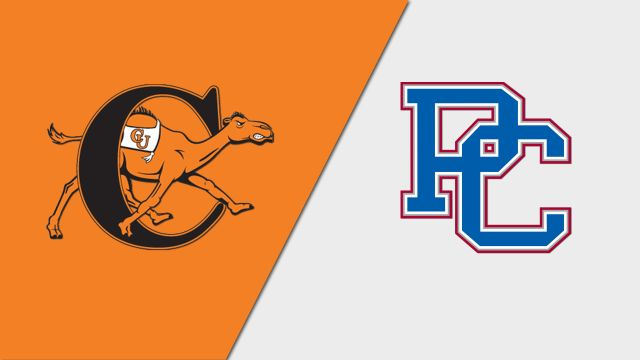 Campbell vs. Presbyterian (M Basketball)