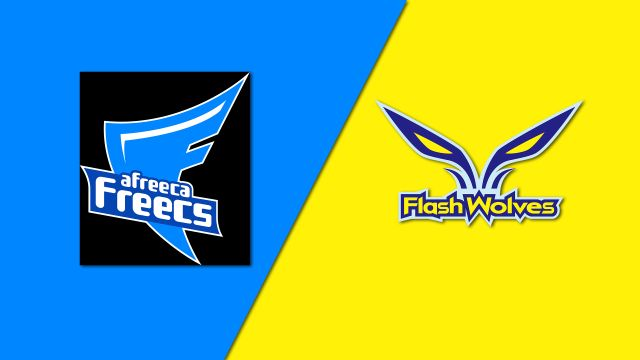 10/15 Afreeca Freecs vs. Flash Wolves