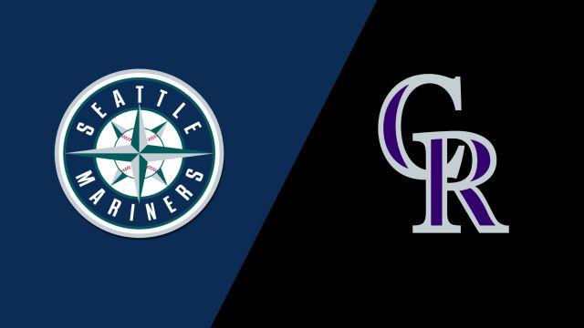 Seattle Mariners vs. Colorado Rockies