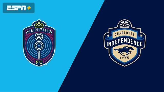 Memphis 901 FC vs. Charlotte Independence (USL Championship)
