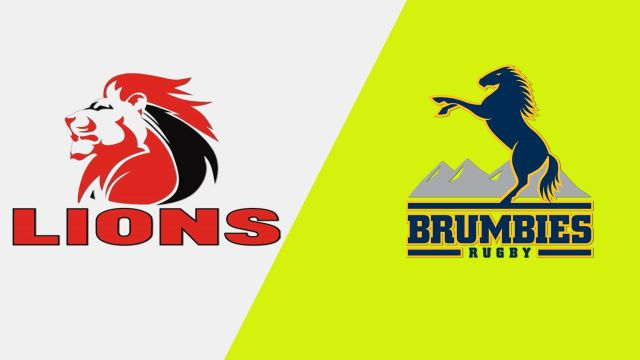 Lions vs. Brumbies (Super Rugby)