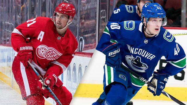 Detroit Red Wings vs. Vancouver Canucks