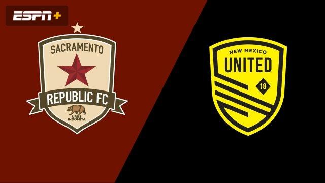 Sacramento Republic FC vs. New Mexico United (USL Championship)