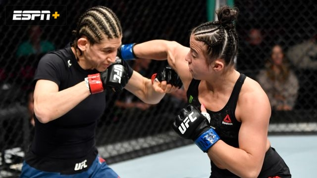 Roxanne Modafferi vs. Maycee Barber (UFC 246)