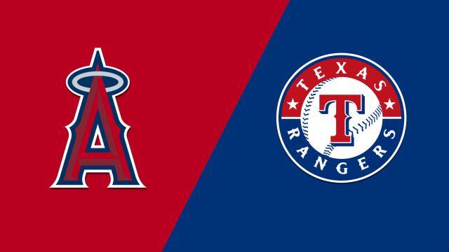 Los Angeles Angels vs. Texas Rangers