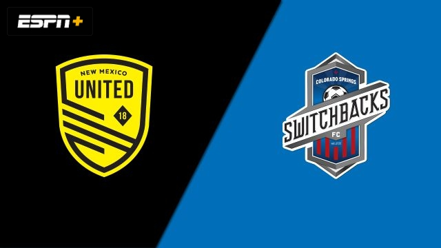New Mexico United vs. Colorado Springs Switchbacks FC (USL Championship)