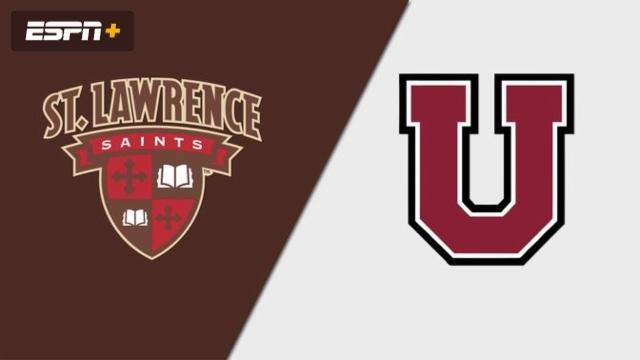 St. Lawrence vs. Union (W Hockey)