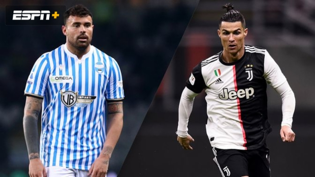 In Spanish-SPAL vs. Juventus (Serie A)