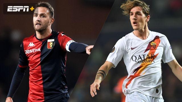 In Spanish-Genoa vs. AS Roma (Serie A)