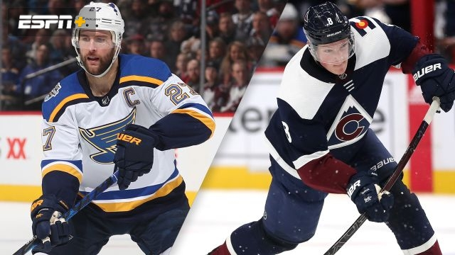 St. Louis Blues vs. Colorado Avalanche